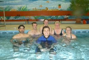 Schwimmkurs Erwachsene Anfänger Gruppenbild