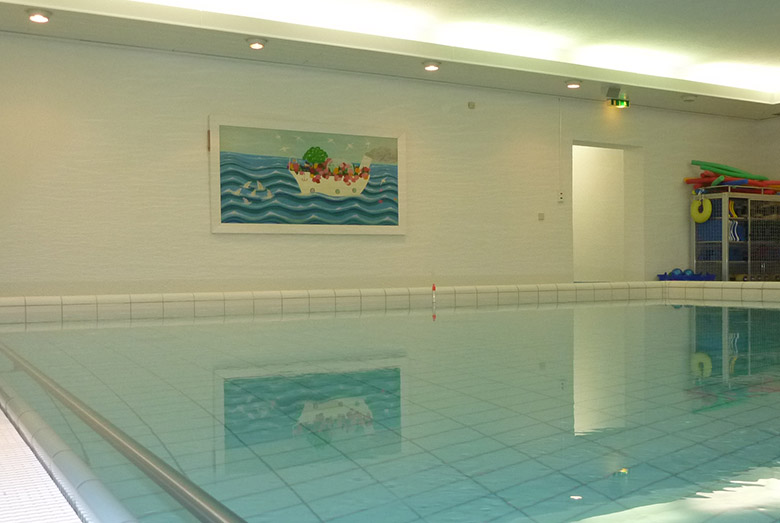 Schwimmhalle in Bad Belllingen