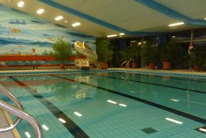 Schwimmhalle in Freiburg