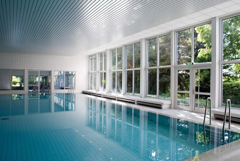 Schwimmhalle in Heidelberg
