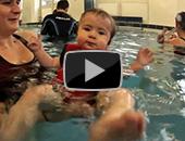 Babyschwimmen auf YouTube